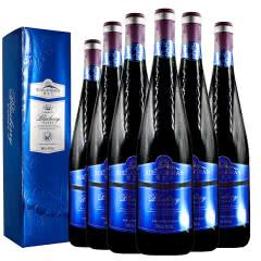 吉林特产雪兰山野生蓝莓酒7度750ml 6支整箱