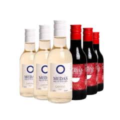西班牙原瓶进口贝拉森赛可小瓶红酒干红葡萄酒女士酒187ml*6