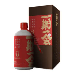 53°一期一会 酱纯-陆 酱香型白酒 500ml