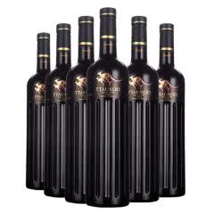 禾富双袋鼠干红葡萄酒澳洲原瓶进口红酒整箱750ml*六支装