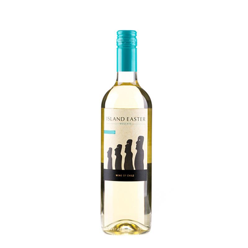 智利复活节岛莫斯卡托白葡萄酒 750ml