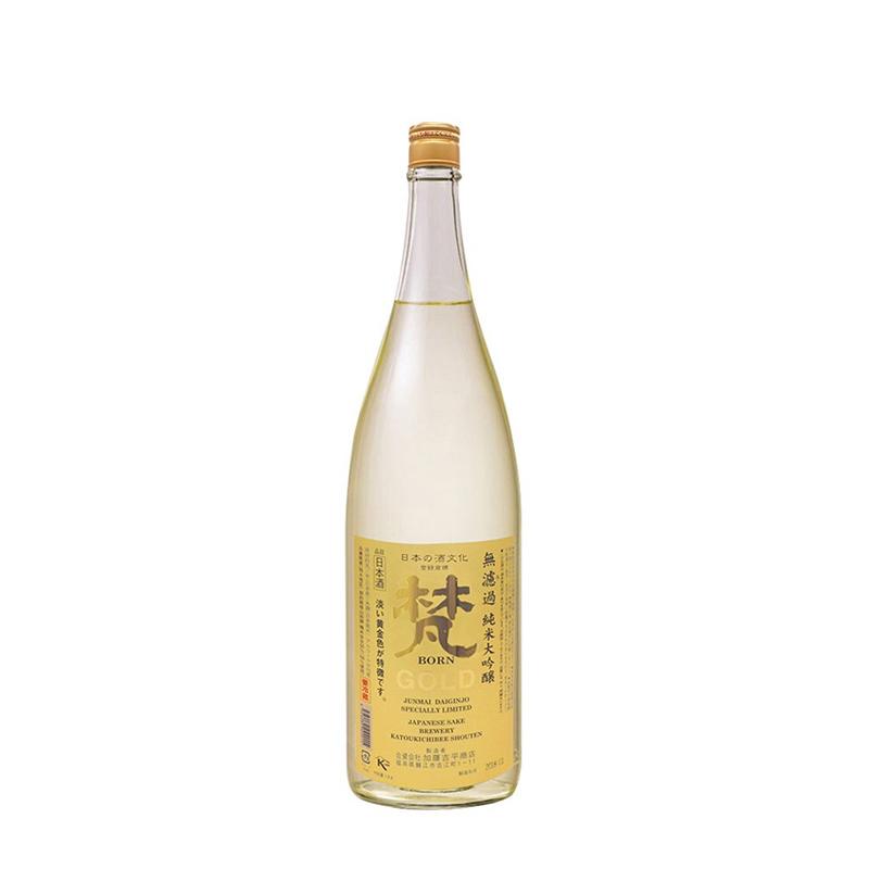 15°梵无滤过纯米大吟酿日本清酒1800ml