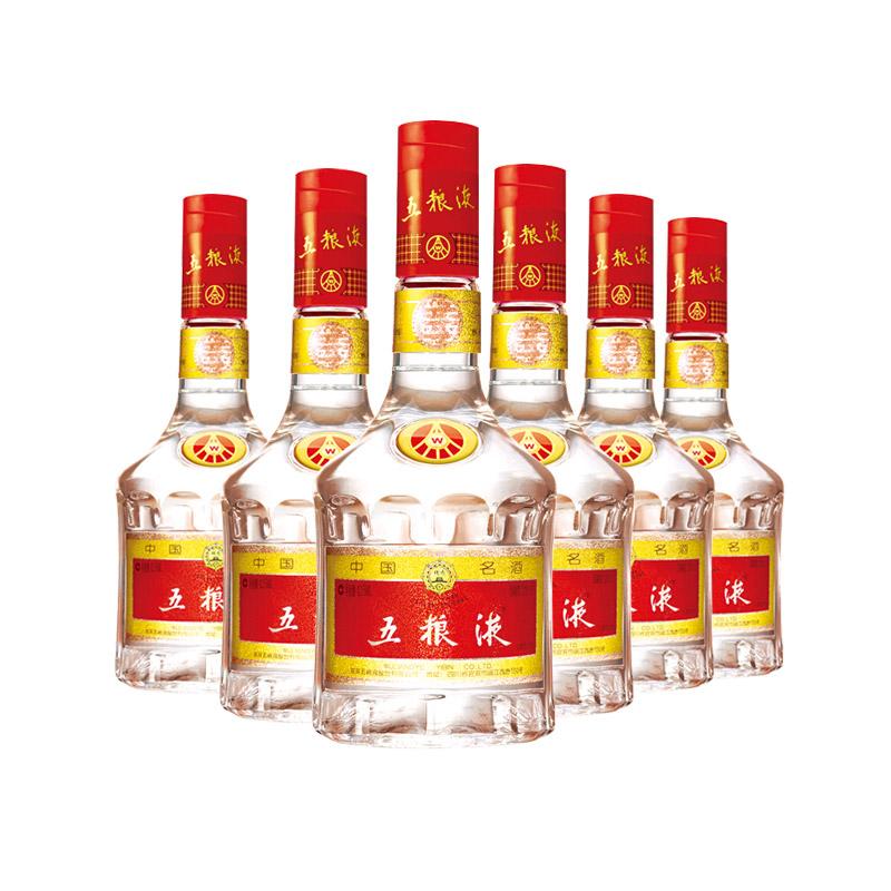 五粮液52度浓香型白酒 425ml*6(整箱装)