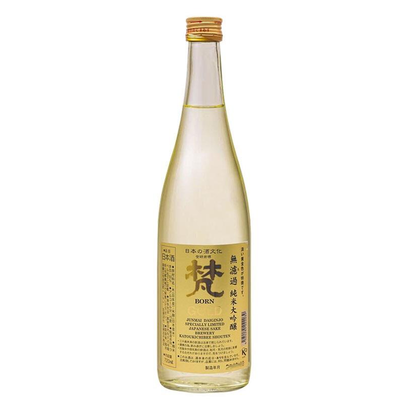 15°梵无滤过纯米大吟酿日本清酒720ml
