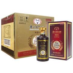 53度 贵州茅台集团 酱香型白酒 500ml 白金坤酱6 整箱6瓶