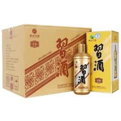 53°茅台集团 习酒 金装老习酒 酱香型白酒 礼盒 500ml *6 整箱装