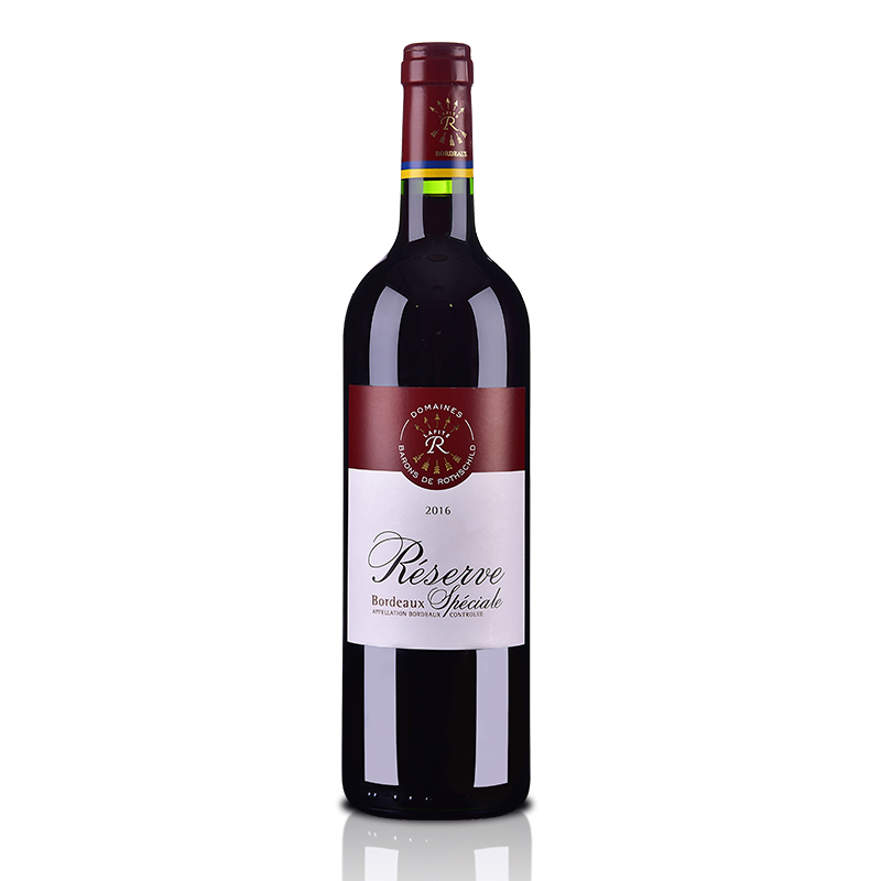 法国拉菲罗斯柴尔德珍藏波尔多法定产区红葡萄酒750ml(DBR行货)