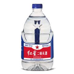红星二锅头52度2L桶装泡酒白酒散装清香型泡酒正品特价