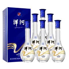洋河 晶之藏 蓝色经典卡盒 口感绵柔型白酒 52度 500ml*6瓶 整箱装