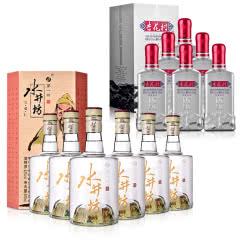 52°水井坊·三国系列(义勇仁)500ml (6瓶装)+42°汾酒集团优级杏花村酒(升级版)500ml(6瓶装)