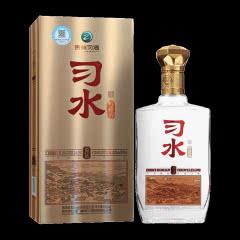 茅台集团 贵州习酒 习水52度 铂钻 浓香型 高度白酒 固态发酵纯粮 单瓶500ml