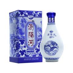 52度浏阳河青花瓷十里醇香浓香型白酒475ml单瓶装