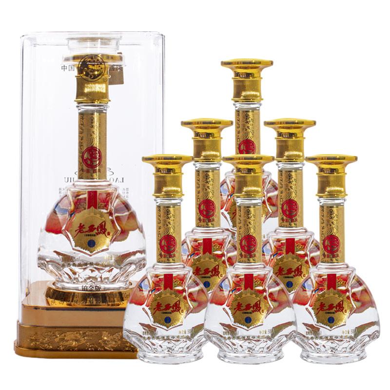 西凤酒 白酒整箱 19铂金 浓香型 52度 500ml*6 整箱