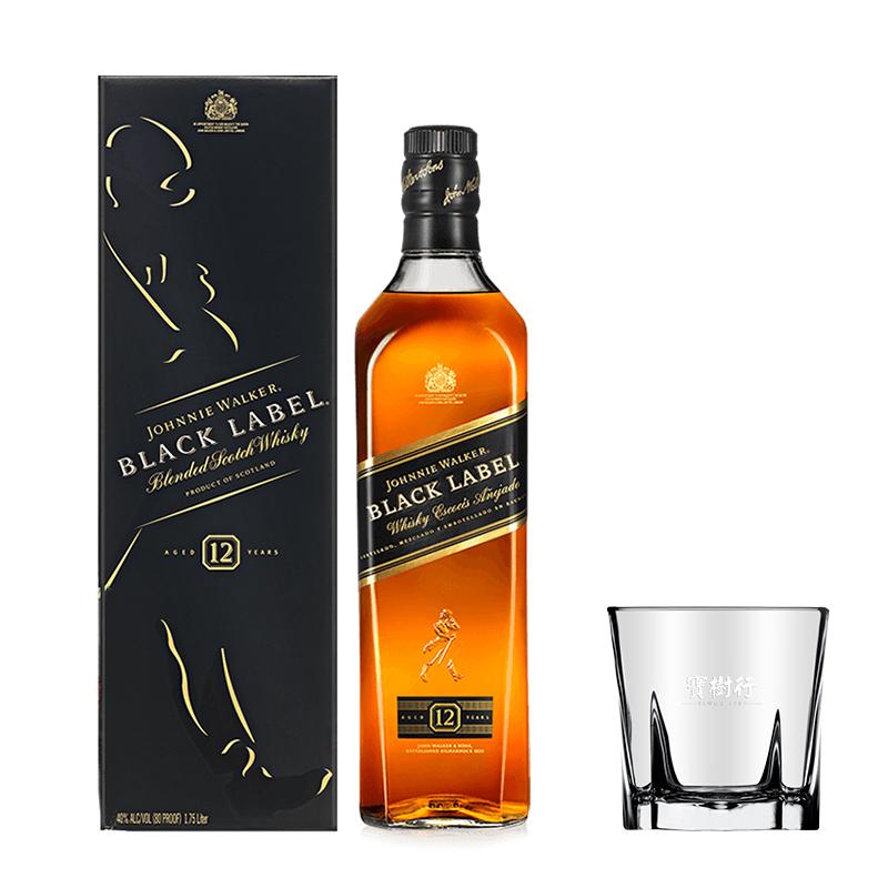 40°尊尼获加黑牌调配型威士忌700mL
