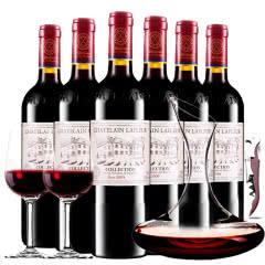 拉斐庄园2009珍酿进口红酒典藏干红葡萄酒红酒整箱醒酒器装750ml*6