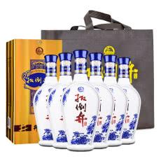 【酒仙甄选】52°扳倒井井韵整箱白酒750ml(6瓶装)