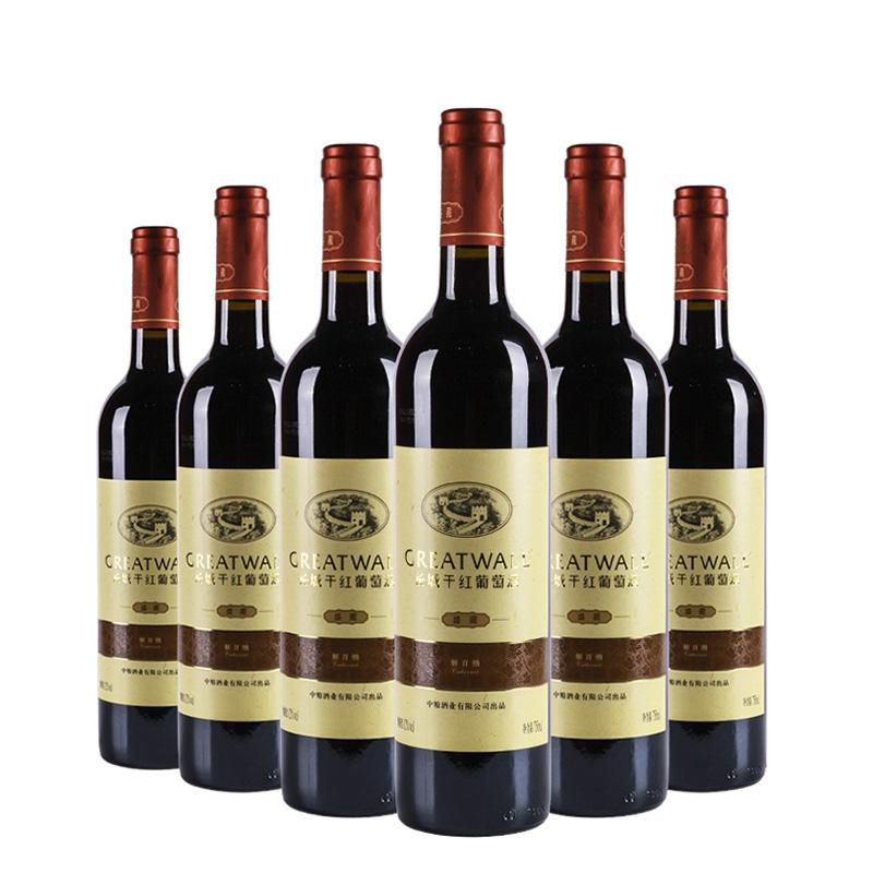中国长城盛藏解百纳干红葡萄酒酒750ml(6瓶装)