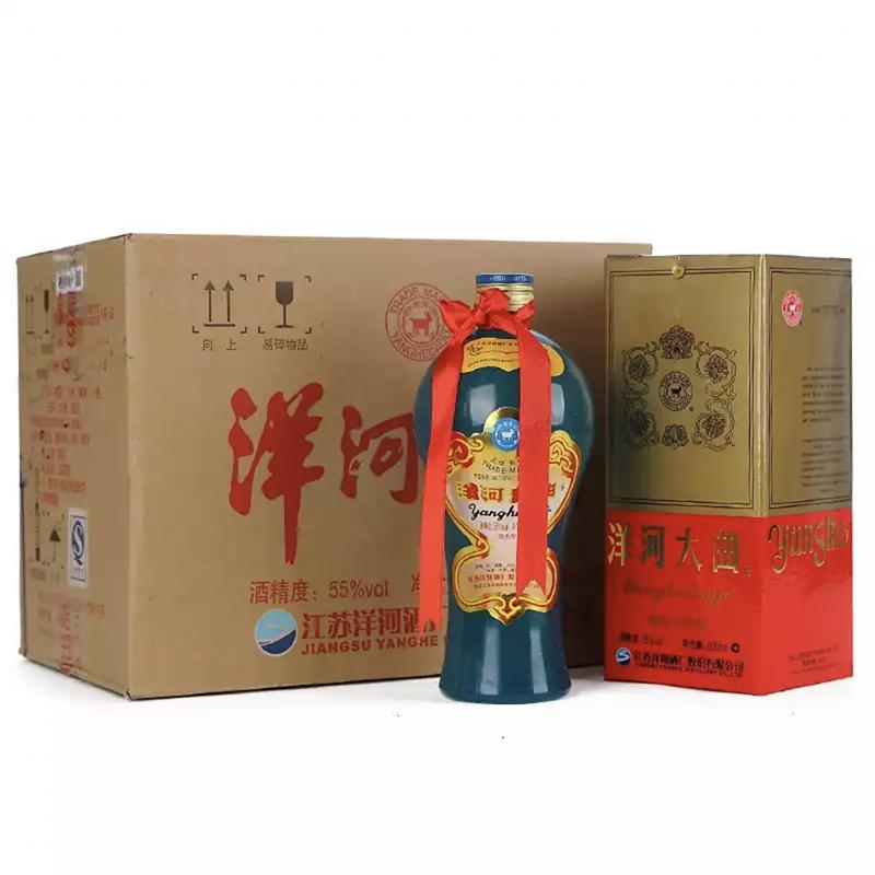 融汇陈年老酒 55°洋河大曲铁盖500ml(6瓶装)2012年