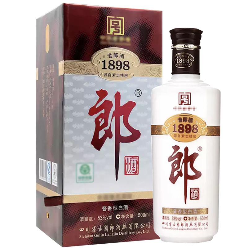 融汇陈年老酒 53°郎酒 1898老郎酒 (2011年) 500ml单瓶装