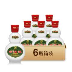 45度绿盒白沙液浓酱兼香型国产高度白酒100mL*6瓶