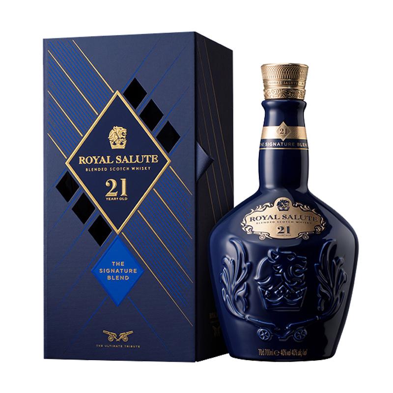 40°皇家礼炮21年2020年版调配型威士忌700ml