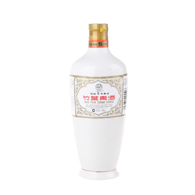 【老酒】45°竹叶青酒(特制五年熟成)500ML(2008年)