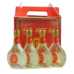 陈年老酒99年云南傣家春酒老白酒250ml*4瓶