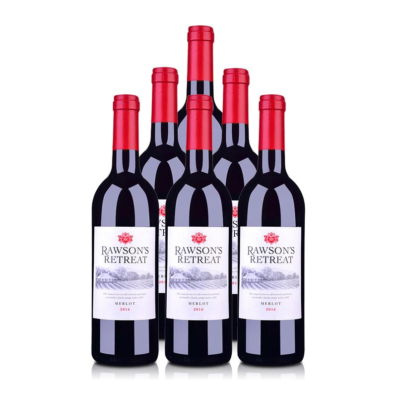 澳大利亚奔富洛神山庄梅洛红葡萄酒750ml(6瓶装)