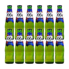 法国进口克伦堡凯旋1664啤酒黄啤250ml(12瓶装)