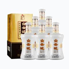 白云边陈酿金三星 浓香型白酒 45度 500ml*6瓶 整箱装