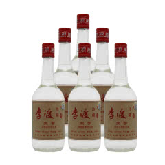 52°李渡酒珍藏壹号 500ml 浓特兼香型 瓶装酒 白酒 送礼500ml*6