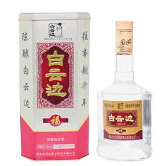 白云边福酒浓香型白酒45度500ml 1瓶