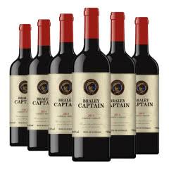 澳洲进口红酒干红葡萄酒老船长整箱2014年份经典混酿750MLX6