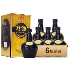 53°珍酒 珍酒老酒 酱香型白酒500ml*6