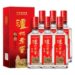 泸州老窖 特曲 浓香型白酒(第十代) 500ml*6瓶整箱装