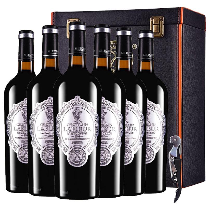 法国进口红酒拉斐天使酒园干红葡萄酒整箱礼盒装750ml*6