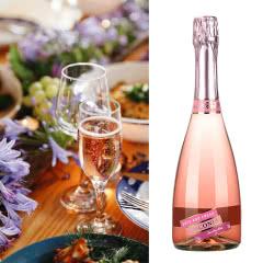 4.5度【蜜桃味】维科尼娅 甜型汽泡酒低度少女葡萄酒 730ml单支装
