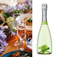 4.5度【葡萄味】维科尼娅 甜型汽泡酒低度少女葡萄酒 730ml单支装