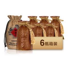 52度湘泉酒业 湘西王酒 国产高度浓酱兼香型白酒 500ml*6瓶装