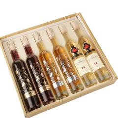 11.5度冰酒甜酒红酒雷司令冰白葡萄酒女士贵腐香槟酒果酒礼盒如图6支 375ml*6瓶