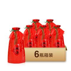 54度凤凰情湘酒 红波瓶 湘泉酒业 浓酱兼稥型粮食酿造白酒 500ml*6整箱装
