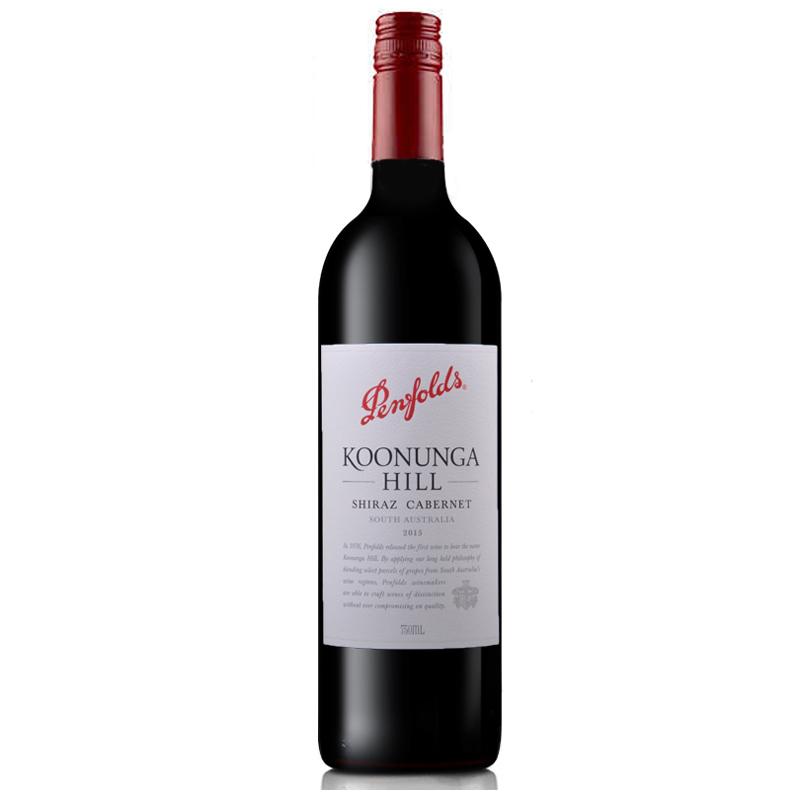 澳大利亚奔富寇兰山设拉子赤霞珠干红葡萄酒750ml