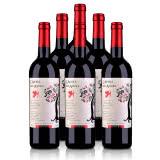 法国(原瓶进口)法圣古堡天使树干红葡萄酒750ml(6瓶套装)