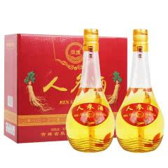 42°枸杞人参酒整箱白酒450ml(2瓶礼盒装)