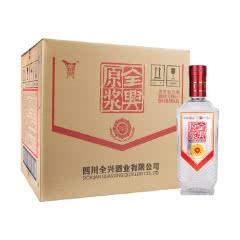 52°全兴原浆万事兴浓香型白酒整箱装500ml(6瓶整箱装)