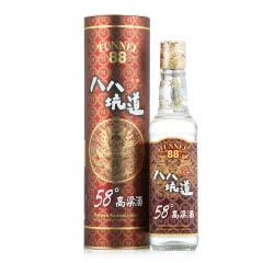 【2014年份老酒特卖】58°八八坑道窖藏高粱酒台湾风味纯粮清香型白酒300mL单瓶
