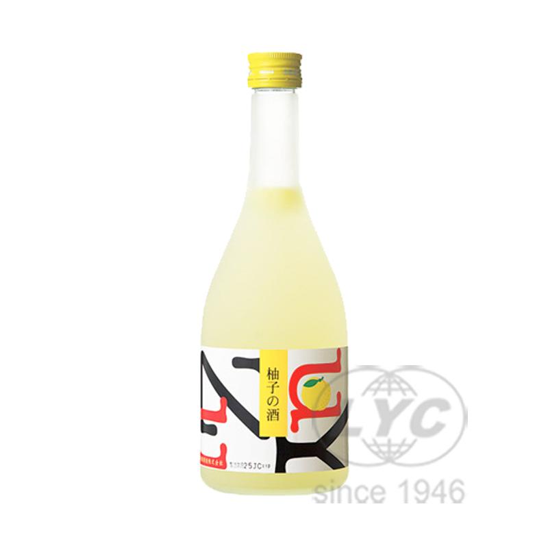 若鹤酒造柚子酒 Wakatsuru Yuzu-no-Sake