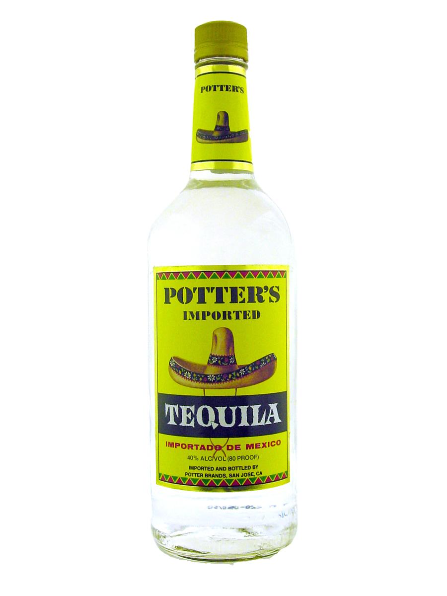 波特白龙舌兰酒 Potters Tequila White