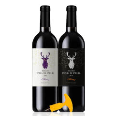 西班牙原瓶进口波尔·蒂奇紫藤干红葡萄酒双支装750ml*2送开瓶器