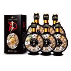 53°贵州金沙十二生肖珍藏酒 酱香型白酒整箱 450ml*6瓶装【扫码588元/瓶】